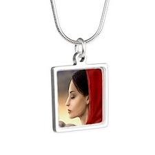 MM colsquare Silver Square Necklace