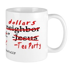 JesusVrsTeaParty Mug