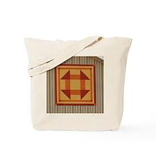 Lances Pizza Quilt a Tile Tote Bag