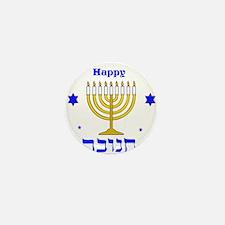 Happy Hanukkah Mini Button