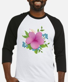 Tropical hybiscus Baseball Jersey