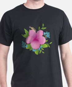 Tropical hybiscus T-Shirt