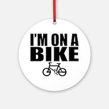 bike Round Ornament