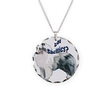 blue merle shelty2 Necklace