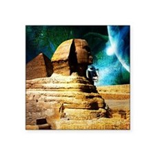 "2-Sphinx78 Square Sticker 3"" x 3"""