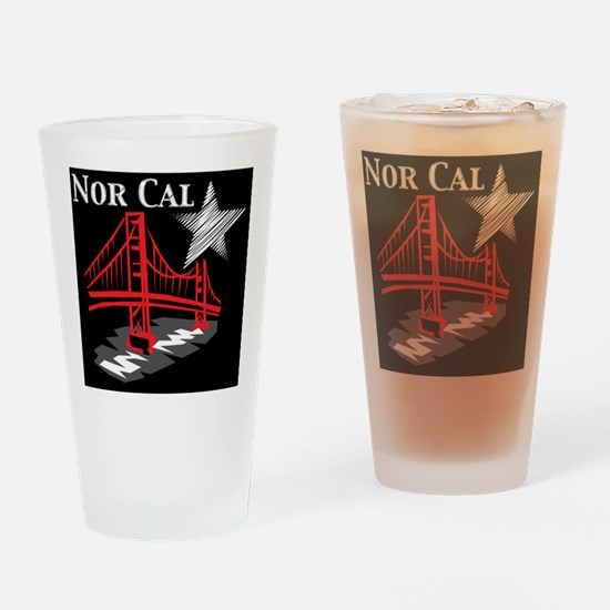 NorCal Drinking Glass