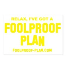 3-foolproof_t-shirt_yello Postcards (Package of 8)