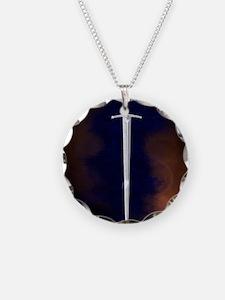 2-Rust square Necklace