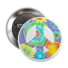 """Peace II 2.25"""" Button"""