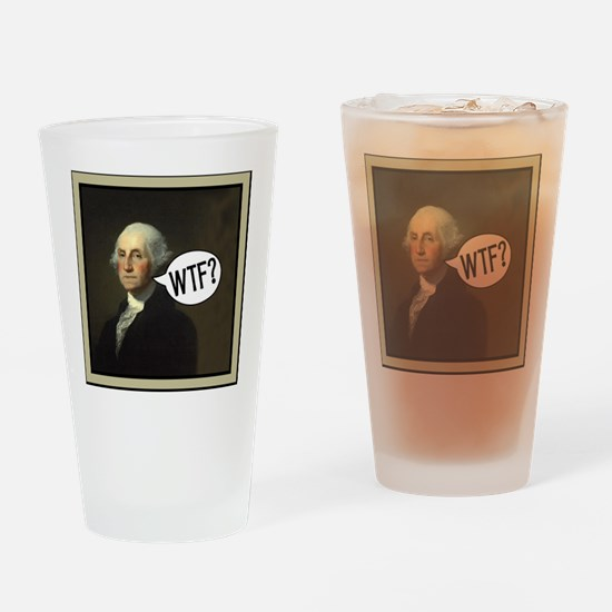 george-washingtonWbor Drinking Glass