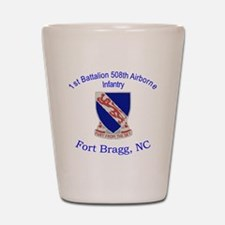 1st Bn 508th ABN Shot Glass