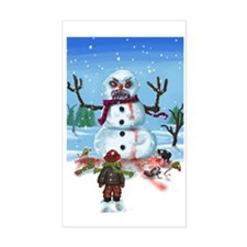 Little Timothys LAST Snowman Decal
