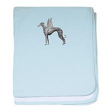 Pegasus Greyhound baby blanket