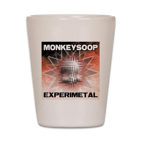 EXPERIMETAL-cafe-press Shot Glass