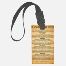 Boyes Largest Rules Poster Luggage Tag