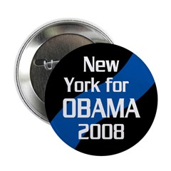 Bulk Rate New York Obama 2008 buttons