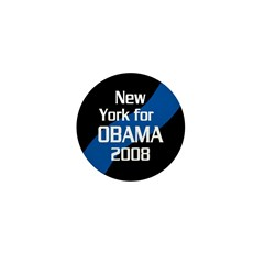 New York for Obama 2008 pin