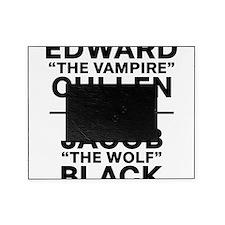 edward-vs-jacob_black Picture Frame