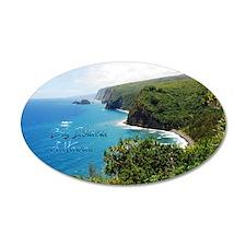Big Island Hawaii Sticker Wall Decal