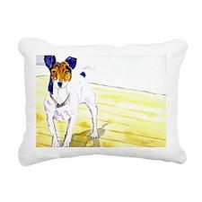 Im Ready Rectangular Canvas Pillow