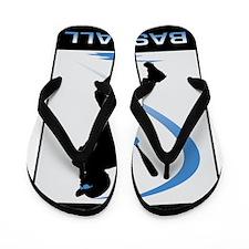 Baseball 33 Flip Flops