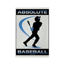 Baseball 33 Rectangle Magnet