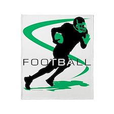 Football 20 Throw Blanket
