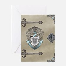The White Knight Book Greeting Card