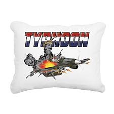 typhoon_tshirt_revised Rectangular Canvas Pillow