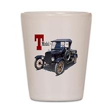 T-truck-10 Shot Glass