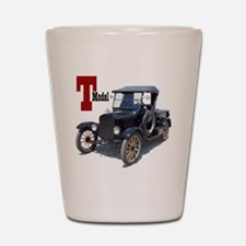 T-truck-10 Shot Glass