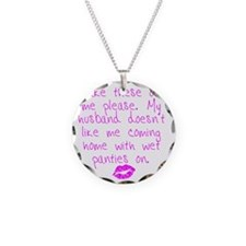 kissed - pink Necklace