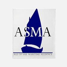 ASMA.logo1b Throw Blanket