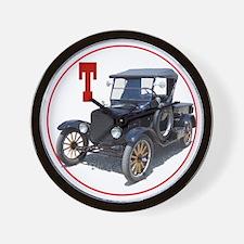 T-truck-C8trans Wall Clock