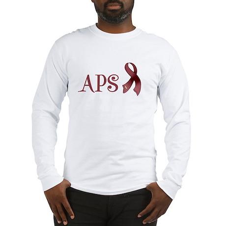 Support APS Awareness Long Sleeve T-Shirt
