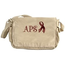 Support APS Awareness Messenger Bag