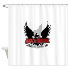 jakesgarage Shower Curtain