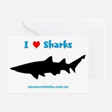 Ilovesharks Greeting Card
