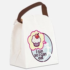 eat Canvas Lunch Bag