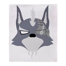 starfox-starwolf-full Throw Blanket