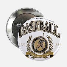 """Baseball - Retro 2.25"""" Button"""