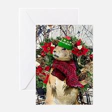 Christmas Prairie dog Greeting Cards