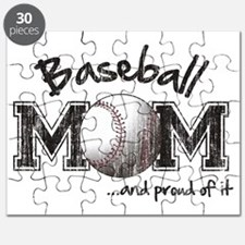 Baseball Mom...and proud of it Puzzle