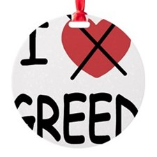 1_blank_hate_GREED01 Ornament