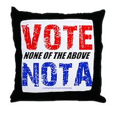 votenota Throw Pillow