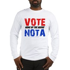votenota Long Sleeve T-Shirt