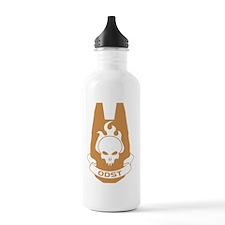 halo-odstgold-full Water Bottle