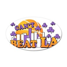 cant beat LA2 copy 35x21 Oval Wall Decal