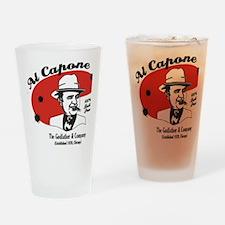 Big Al Capone Drinking Glass