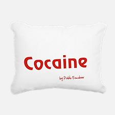 Cocaine - Pablo Escobar Rectangular Canvas Pillow